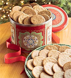 Plow & Hearth - Ginger Snap Cookies