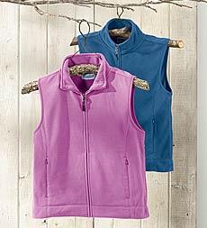 Plow & Hearth - Fleece Vest